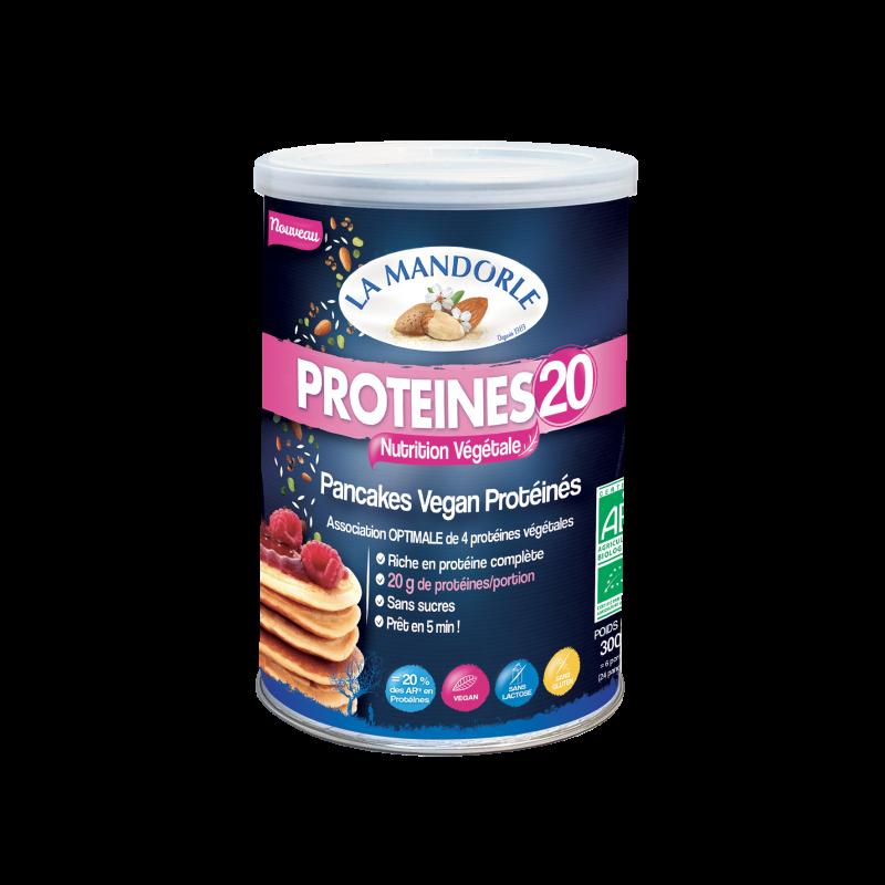 Pancakes Vegan Protéinés PROTEINES 20